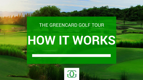 Greencard Golf Tour How it Works Banner