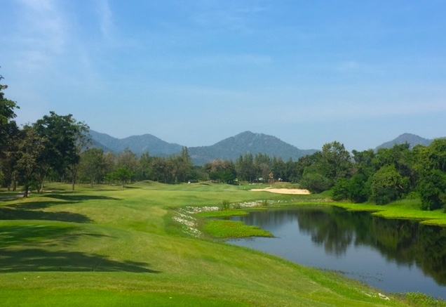 best golf courses thailand