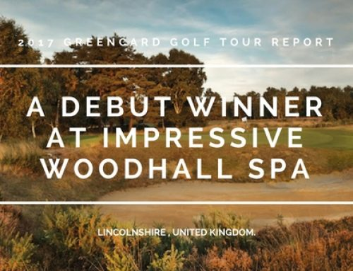 Greencard Golf Holidays Woodhall Spa Golf 2017 Tour Report