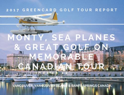 Greencard Golf Holidays Canada 2017: Tour Report