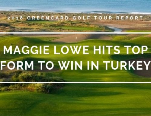 Greencard Golf Tour Review: Maggie Lowe Hits Top Form at Regnum Carya